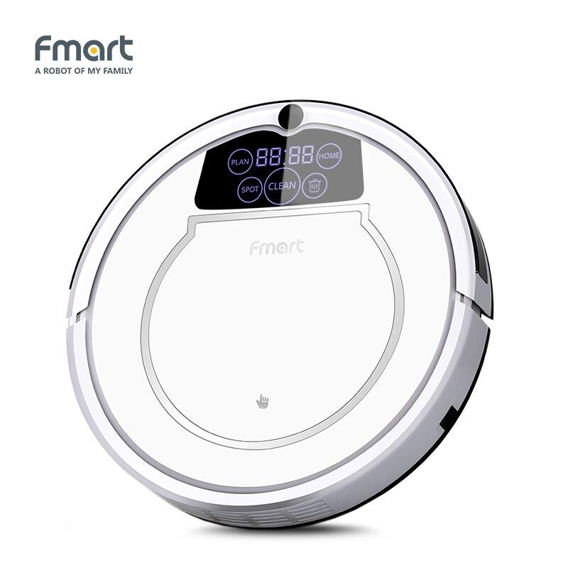 Fmart E 550W (S) робот пылесос уборки дома Приспособления 3 в 1 очистители всасывания Sweeper СС светодио дный Дисплей аспиратор
