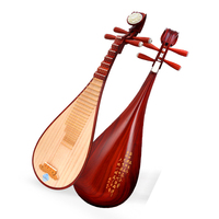 Chinese lute Pipa Professional rosewood Pi pa National Music Instrument pipa with full Pipa accessories String Instrument Pipa