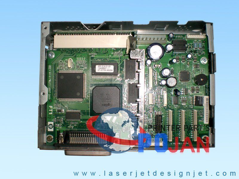 C7791-60132 Designjet 130 130nr Formatter Main logic PC board module ink printer plotter parts electronics module formatter main logic board for hp designjet 510 510ps ch336 67002 plotterparts original used plotter parts