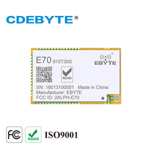 CDEBYTE E71-915MS30 CC1310 915MHz UART I/O SMD module Long Range 6km Wireless rf Transmitter Receiver Module  стоимость