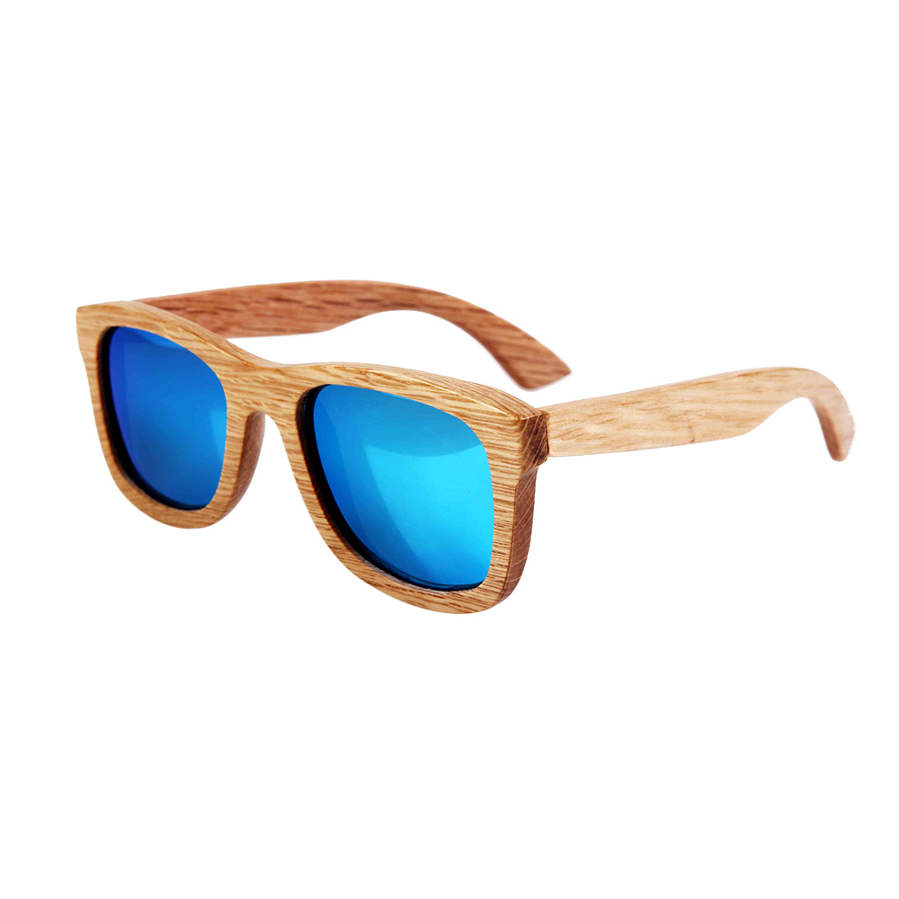 BerWer 2019 Fashion Wood Sunglasses Men Women Wooden Sun Glass Bamboo sunglasses  bamboo Eyewear Wood Glasses
