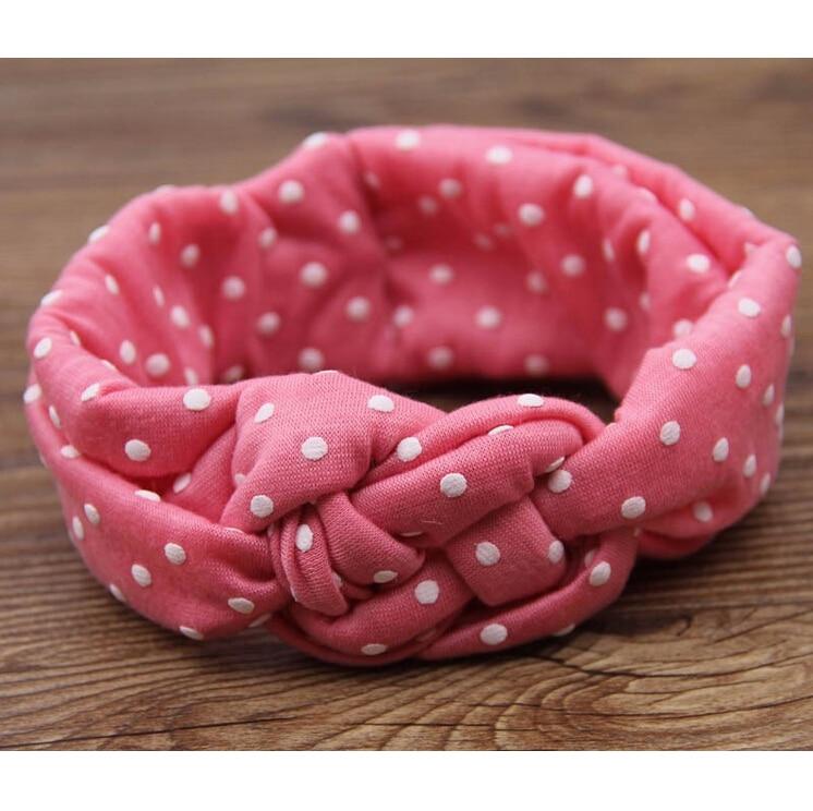 TWDVS Babe Haarbanden Afdrukken Knoop Haarband Meisjes Elastische - Kledingaccessoires - Foto 5
