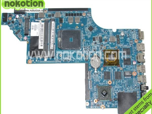 все цены на NOKOTION 665284-001 Laptop motherboard For Hp DV6 DV6-6000 ddr3  hd6750 1GB Graphics Mainboard Full Tested