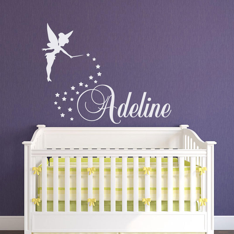 Decal Nursery Decor Custom Name Vinyl