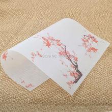 15x21 см& 21x29 см Набор для изготовления мыла подарочная оберточная бумага с цветком 200 шт./лот