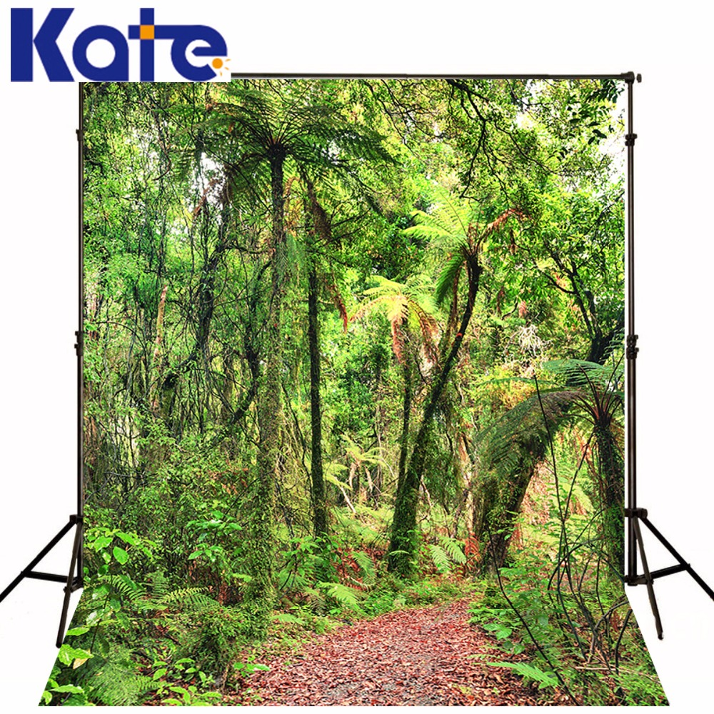 KATE Background Spring Photography Backdrops 10x10ft Green Forest - Camera and Photo