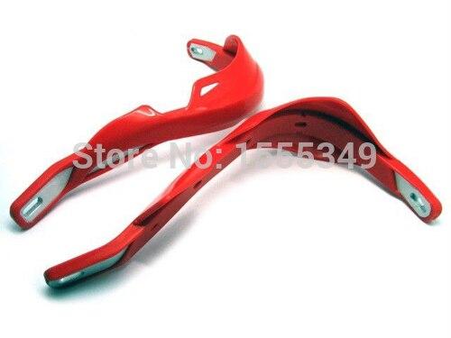 "Красный 7/"" Мотоцикл рукавицы Рука гвардии для KTM SX EXC XC XCF SXF 65 85 105 250 350 450 525 YAMAHA YZ WR TT PW 450F 250F R230"