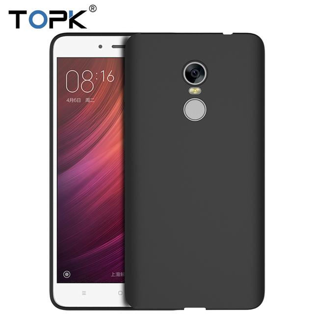 TOPK Phone Case For Xiaomi Redmi Note 4 Ultra Thin Soft TPU Silicon Luxury Shockproof Cover for Xiaomi Redmi Note 4