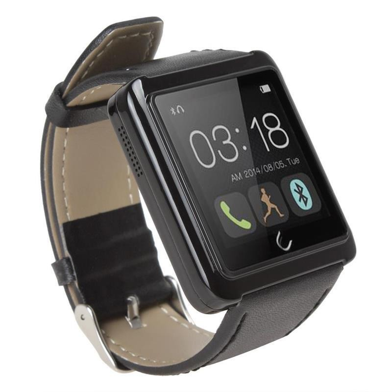 ФОТО New U10 U Watch Waterproof Bluetooth Smart Android Watch Bracelet Anti-lost For Android Phones Samsung LG HTC Xiaomi Huawei