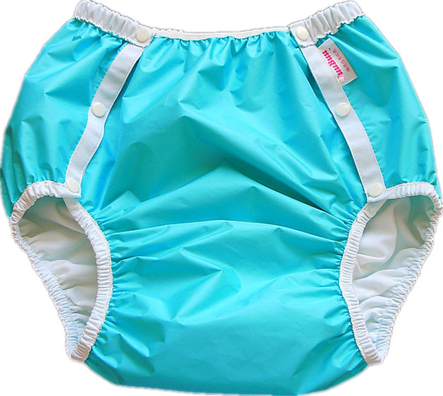 Free Shipping FuuBuu2214-BLUE-M Adult Diaper/ Incontinence Pants/ Diaper Changing Mat