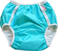 Free Shipping FuuBuu2214 BLUE M Adult Diaper Incontinence Pants Diaper Changing Mat