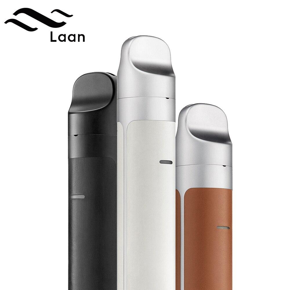 Orignal Shanlaan Laan Pod Kit 40W with Sub ohm Coil Button Free 1300mAh Pod System Vaporizer