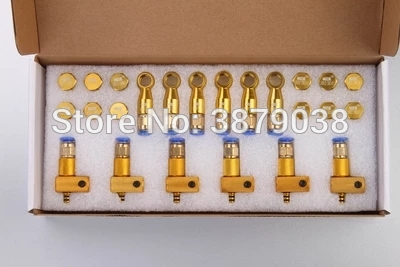 Free shipping common rail injector diesel oil return connector sets common rail injector return oil collector