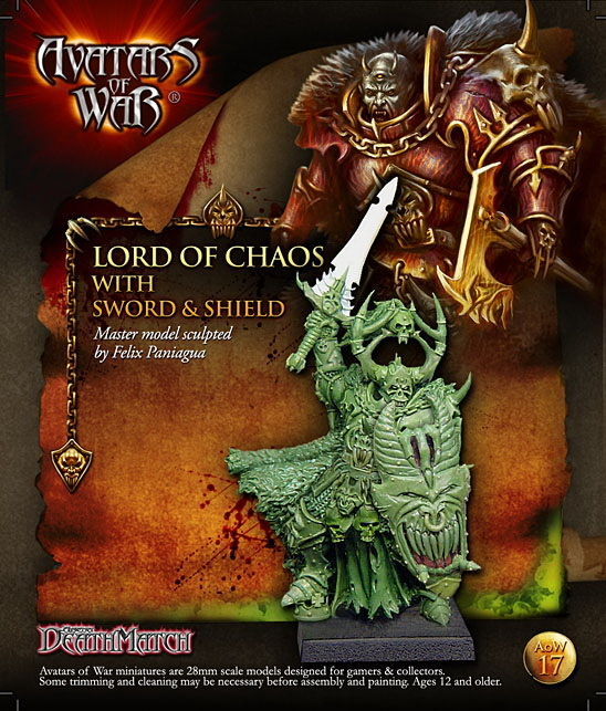 28212 Lords of Chaos sword shield chaos unleashed