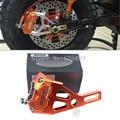 Для Yamaha Электрический Скутер, Мотоцикл RSZ BWS Зума Aerox RPM Марка ЧПУ Тормозной Суппорт + 220 мм Дисковый Тормоз Насоса адаптер Кронштейн Наборы