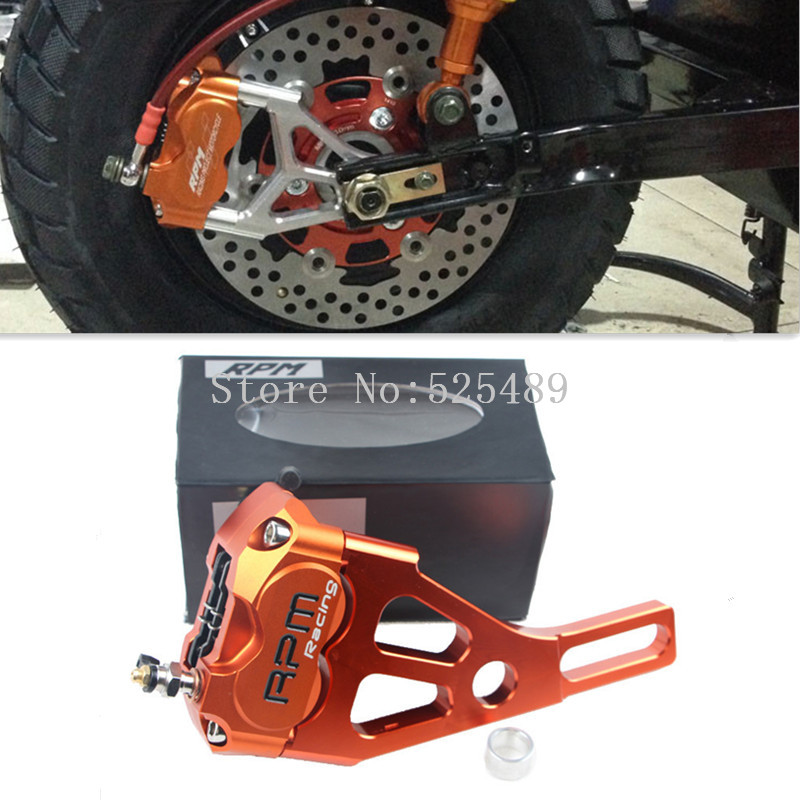 For Yamaha Electric Motorcycle Scooter RSZ BWS Zuma Aerox RPM Brand CNC Brake Caliper+220mm Disc Brake Pump Adapter Bracket Sets some pumpkins