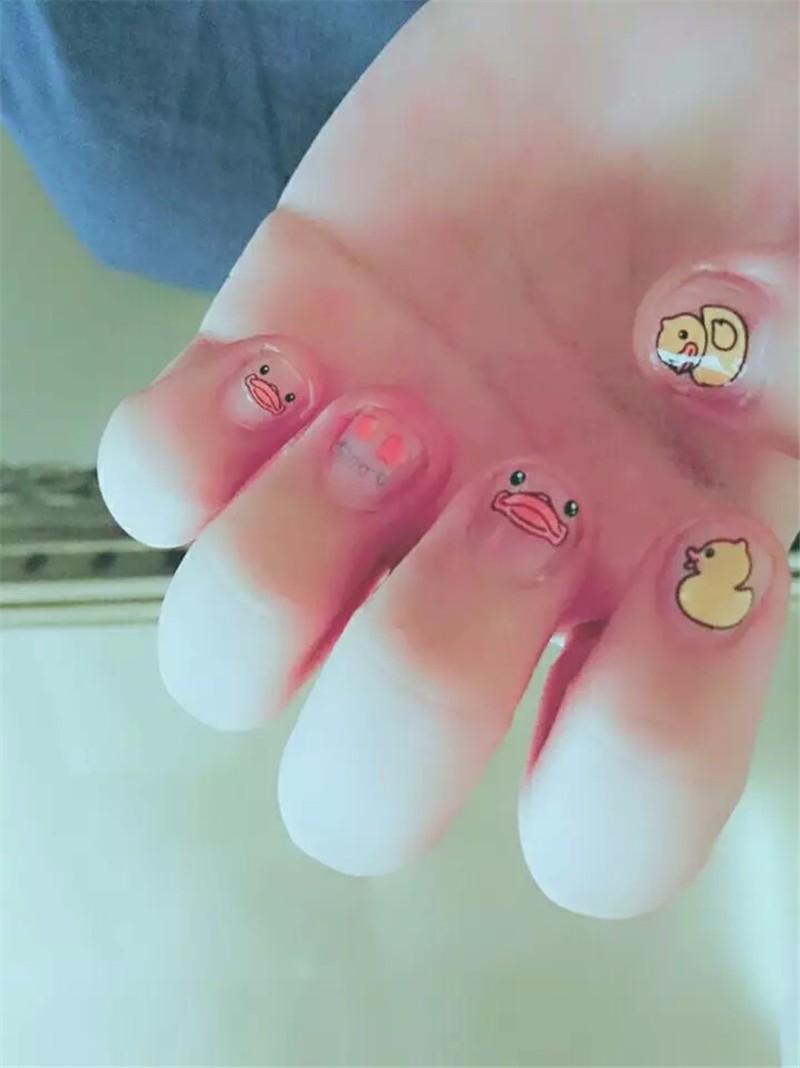 10pcs/set Cute Manicure applique patch children pregnant women ...
