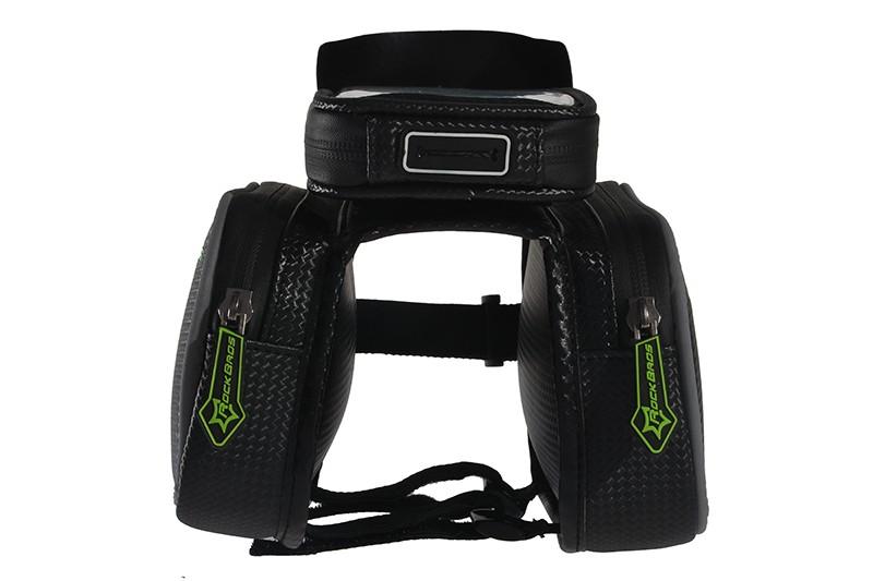 Rockbros mtb rama roweru przodu torba głowy górna rura podwójna IPouch Dotykowy Kolarstwo Pannier Dla 5.8/6 cal Smartfon Dotykowy ekran 12