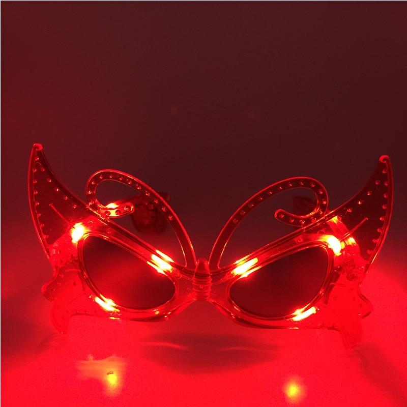 Led vestido de novia ropa 5 unids / lote láser intermitente gafas - Para fiestas y celebraciones - foto 2