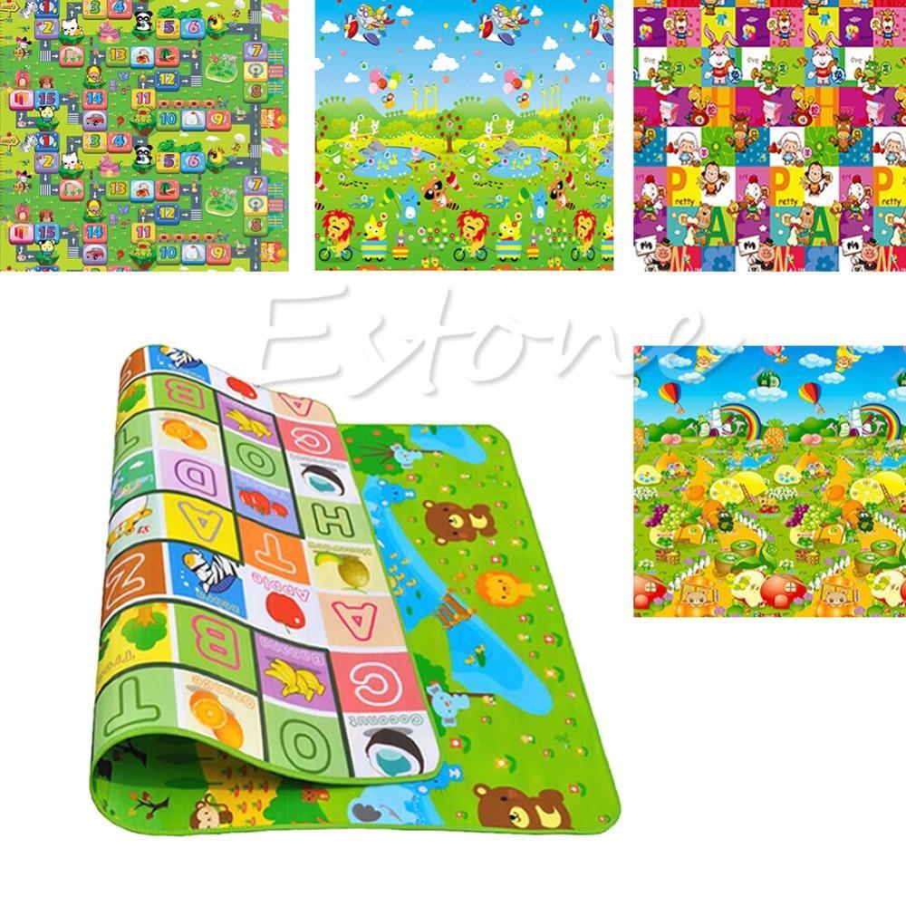 Baby Kid Toddler Crawl Play Game Letter Alphabet Mat Carpet Picnic Random Style