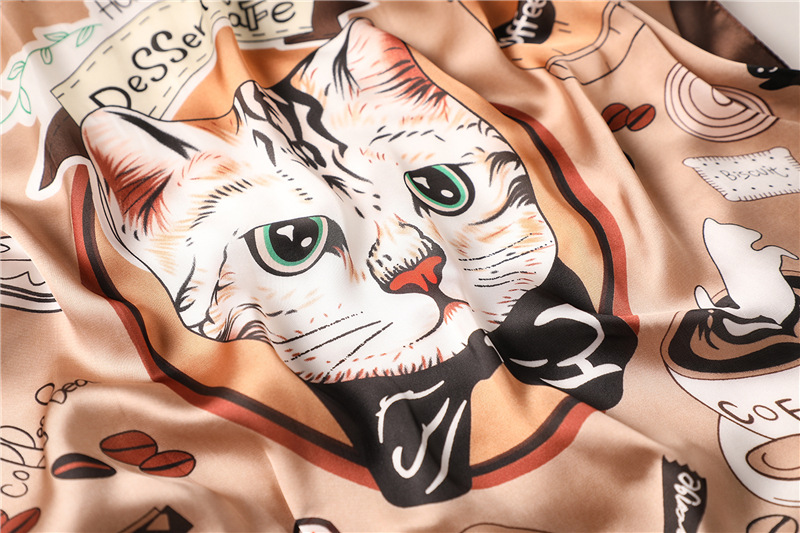 SILK SCARVES AT THE GREAT CAT STORE