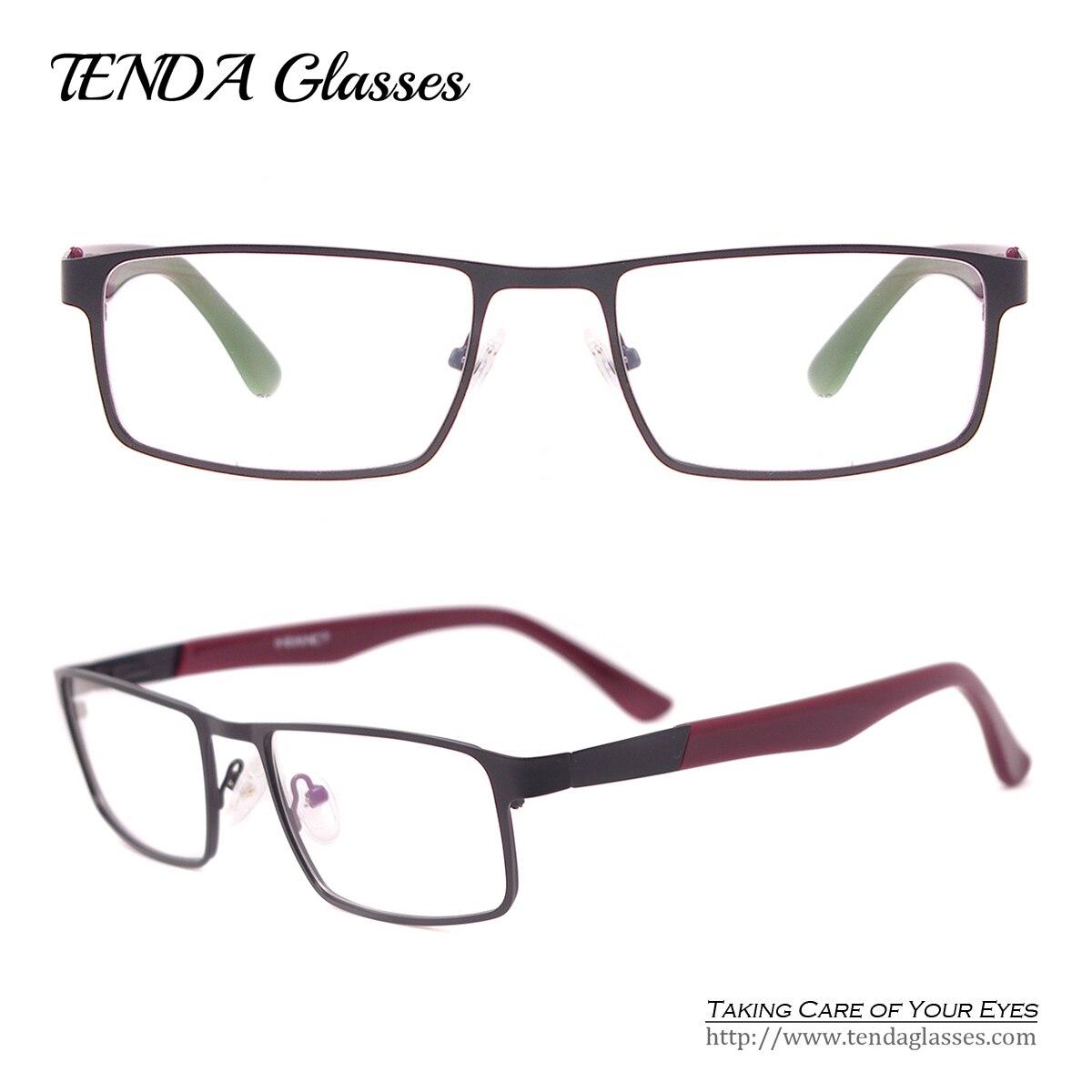 Clear Frame Glasses Malaysia : Aliexpress.com : Buy Men Rectangle Eyeglasses Full Frame ...