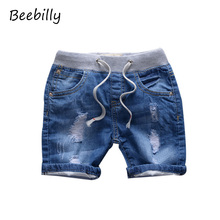 18M-8T New Children's Summer Jeans Shorts for Boy Denim Fahion Jeans Baby Boy's Panties Shorts for Children Boys Shorts X35
