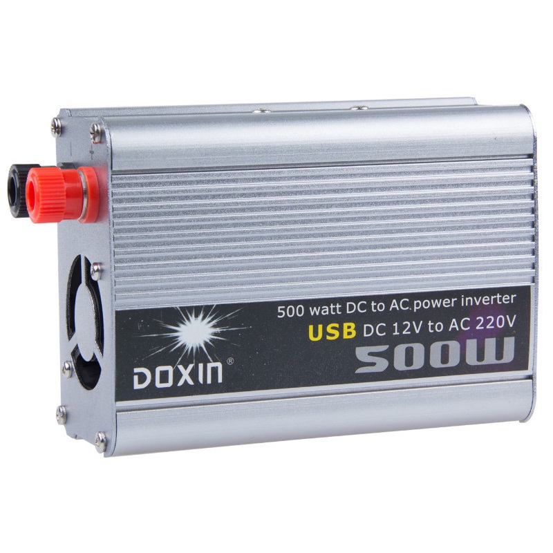 Onduleur 12 v 220 v 500 w onduleur 500 W modifié onde sinusoïdale moteur convertisseur onduleur 12 220 v à 220 v interrupteur d'alimentation
