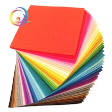 Non Woven Felt Fabric 1mm Thickness Polyester Cloth Felts Of Home Decoration Pattern Bundle For Sewing Dolls Crafts 40pcs20x20cm