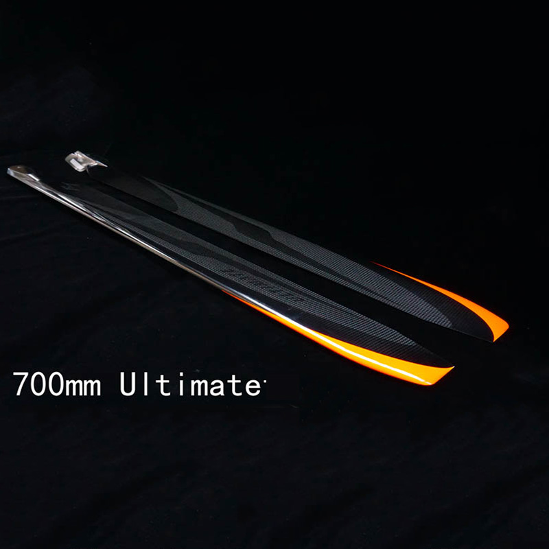 Rotor Tech FUNKEY RC 3D Helicopter Parts Carbon Fiber Main Blades 700mm Propellers for X7 700L
