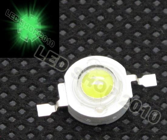 Wholesales and Retail +20pcs/lot +1W Green high power LED+1W Green LED with AL base board,+Green LED 1W+freeshipping