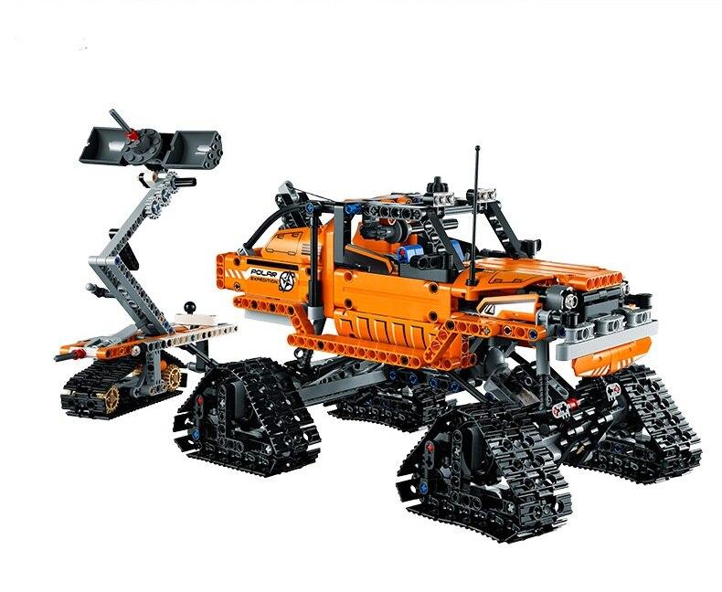 ФОТО g.shaw baricks toy DIY Building Blocks 20032 Compatible with Lego Technic Arctic Truck 42038