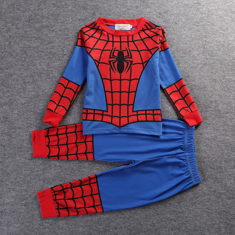 Christmas Boys Spiderman Costume Cosplay Toddler Baby Boys Children Clothes Set Halloween Costume Boys Spiderman Children Sets kids boys pilot costume cosplay halloween set for children fantasia disfraces game uniforms boys military air force jumpsuit