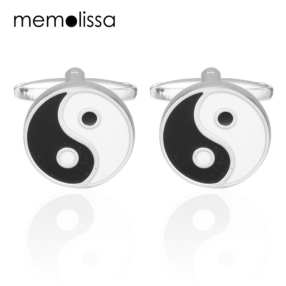 MeMolissa Luxury Gossip shirt cufflinks for mens Enamel cuff buttons Car cuff links gemelos abotoadura Jewelry