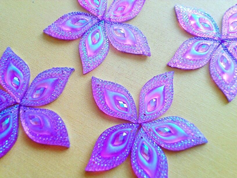 Deep Pink AB colour sew on crystal 15*30 mm flatback Navette eye shape rhinestones strass hand sewing for dress 15pcs/lot