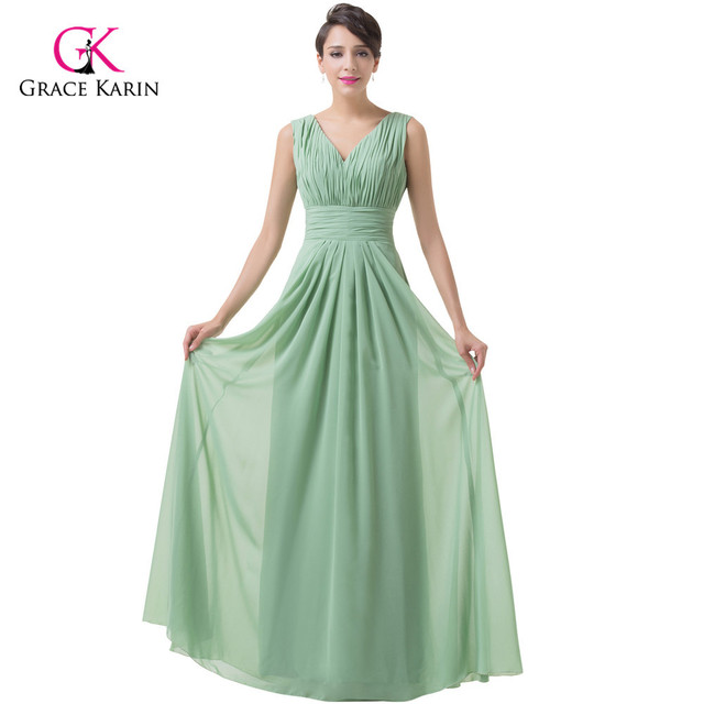 Green Formal Evening Gowns