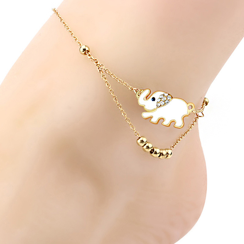 anklet bracelet plated women charm chain tobilleras anklets ankle thin design and leg new foot adjustable color beach item in for silver pulseras jewelry from simple summer fashion gold accessories bracelets