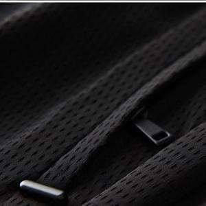 Image 5 - Pantalones de hombre transpirables de tela ahuecada de linglu nuevo verano Delgado negro cómodo pantalones de hombre de talla grande M XL 2XL 3XL 4XL