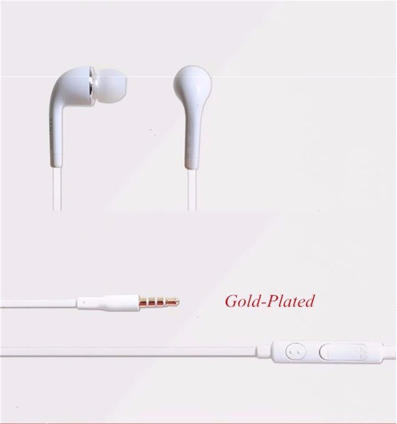 Sport J5 In-Ear Wired Earphones Heavy Bass Sound Stereo Music Headpset for Smartphone Computer white 4
