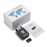 Mini GPS TK206 OBD 2 Real Time GSM Quad Band Anti theft Vibration Alarm GSM GPRS Mini GPRS Car Tracker Tracking OBD II