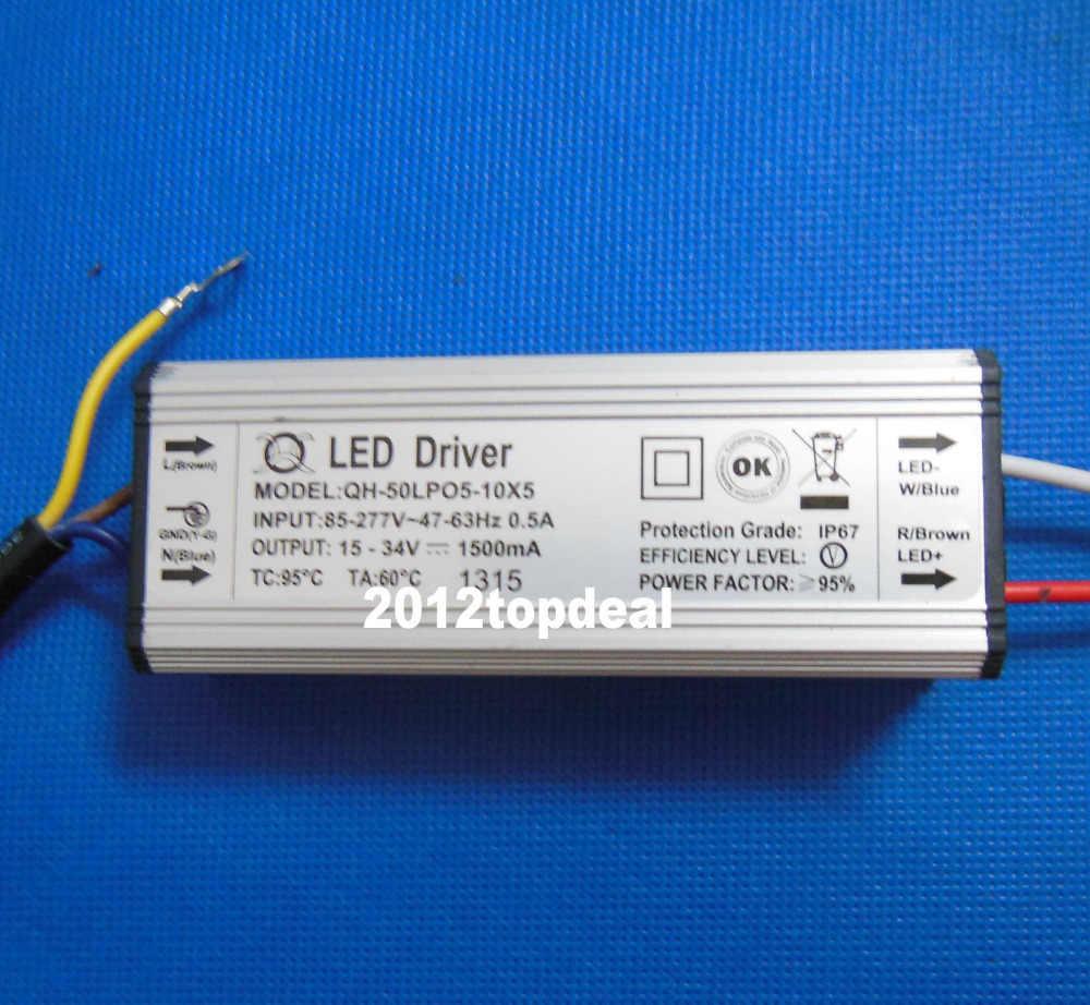 Wodoodporny zasilacz LED sterownik 10w 20w 30w 50w 100w 150W 200W LED smd Light