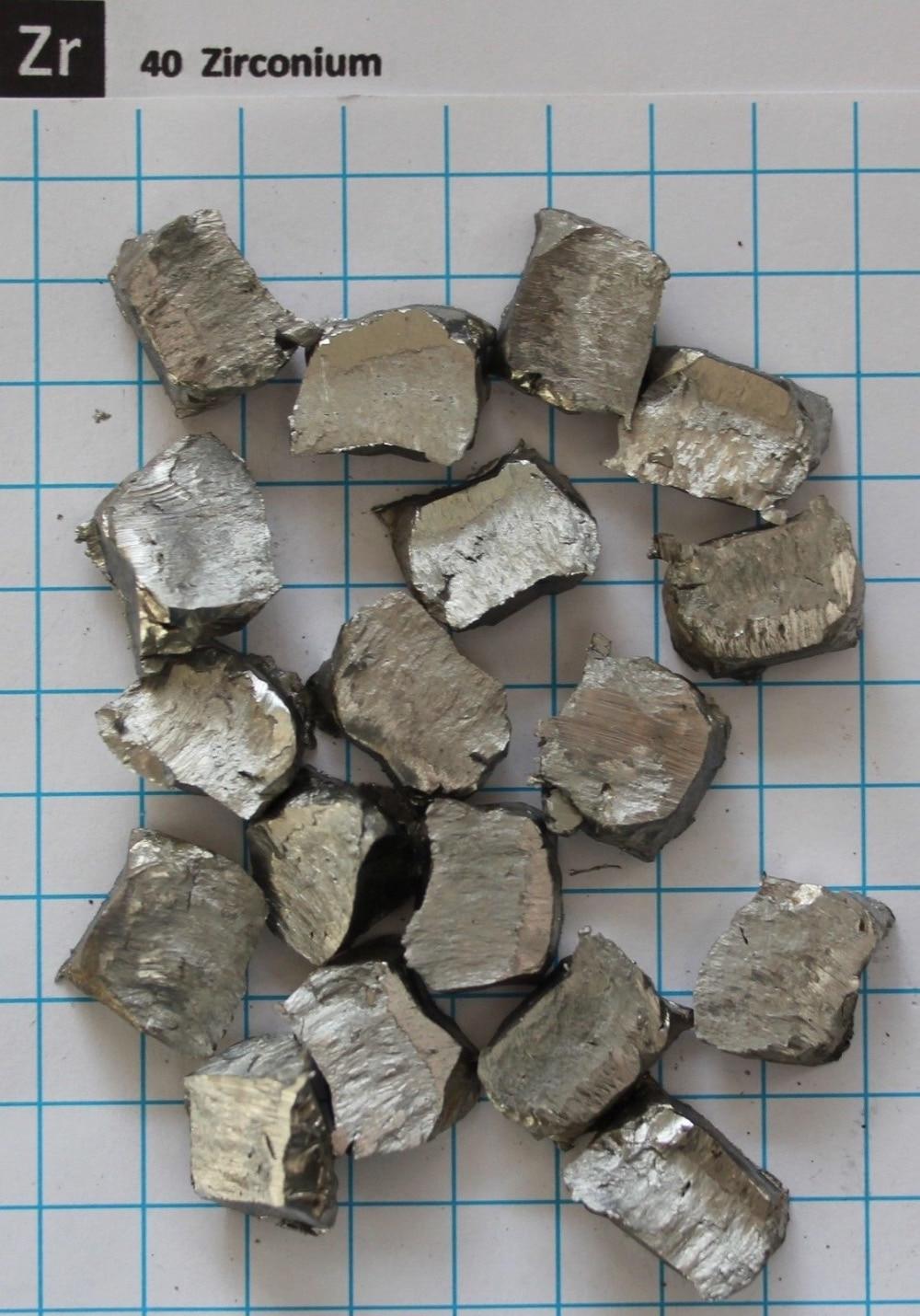 ~ 10g Zirconium Metal Nugget 99.9% - Element 40 sample