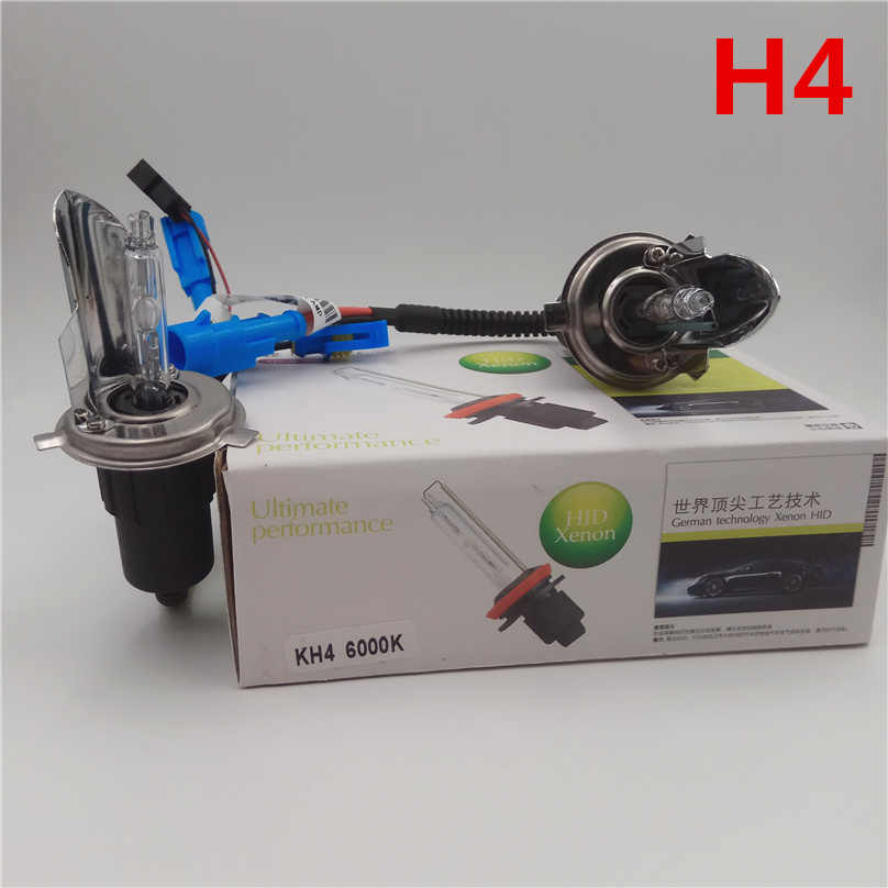 1set H1 H3 H4 H7 H11 9005 9006 9012 D2H HID lamp 55W xenon headlight bulb 3000K 4300K 6000K 8000K 100% Replace headlamp lights