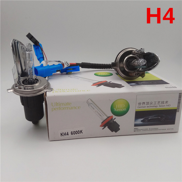1 set H1 H3 H4 H7 H11 9005, 9006 de 9012 D2H lámpara HID 55 W xenón bombilla del faro 3000 K 4300 K 6000 K 8000 K 100% reemplazar luces de faro