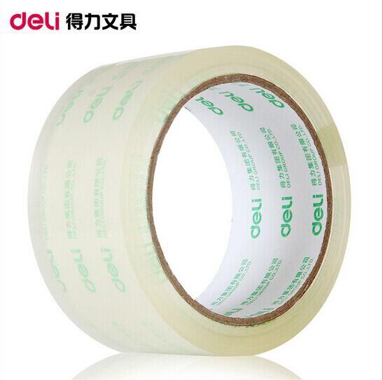 3pcs/set  48mm*60y Transparent Tape Single Side Tape Vintage Longer 60 Meters Office Adhesive Tape OBT009