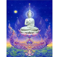 Buddha statue diamond Embroidery diy painting mosaic diamant 3d cross stitch pictures H795