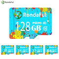 RondaFul TF Card Class 10 32GB micro sd card 16GB 8GB 64GB 128GB Memory Card for Smart Phone Tablet Camera High Speed Class 10
