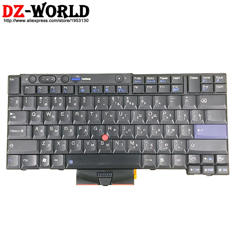 New NMB RU Russian Keyboard For Lenovo Thinkpad T410 T420 T410S T420S X220 X220i T510 I T520 W510 W520 Teclado 45N2234