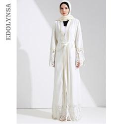 4f0ecc61097 Dubaï Abaya Robe musulmane solide grande taille Robe à tricoter Dubai Abaya  robes caftan Abaya robes
