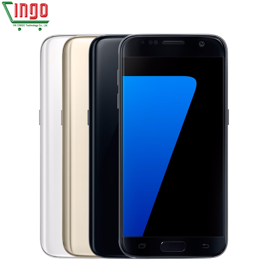 bilder für Samsung Galaxy S7 G930V 4 GB RAM 32 GB ROM Handy Quad Core 5,1 zoll 12MP WIFI 3000 mAh Fingerprint